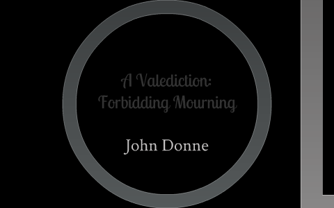 A Valediction Forbidding Mourning By Virginia Bland On Prezi