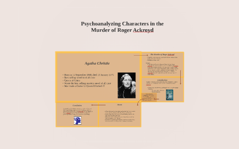 murder of roger ackroyd character analysis