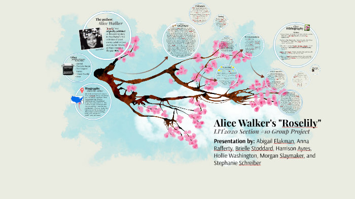 the flowers by alice walker symbolism