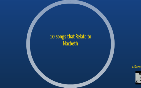 songs that relate to macbeth