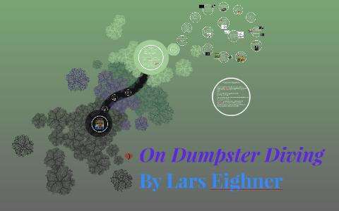 dumpster diving lars eighner analysis