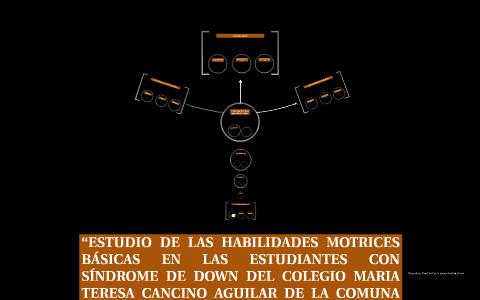 ESTUDIO DE LAS HABILIDADES MOTRICES BÁSICAS EN LAS ESTUDIAN