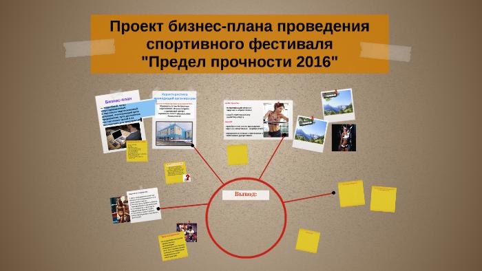 Бизнес план проведение фестиваля реальный бизнес план производства