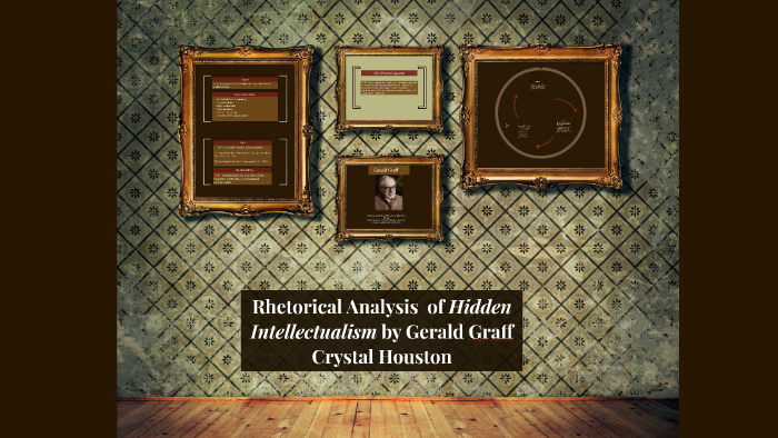 hidden intellectualism gerald graff summary