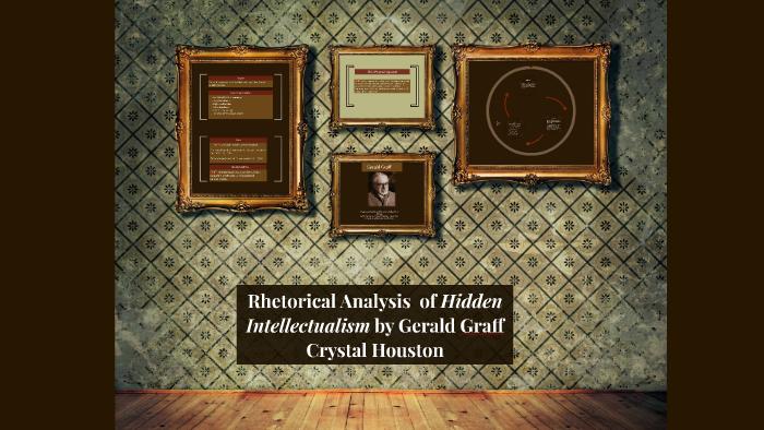 hidden intellectualism gerald graff