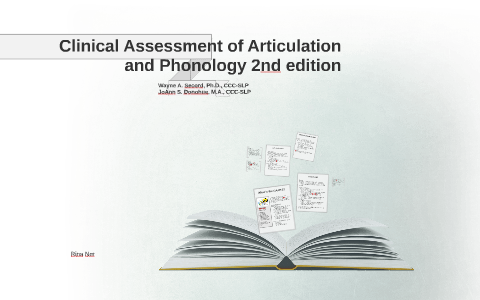 Clinical Assessment of Articulation and Phonology by Rina