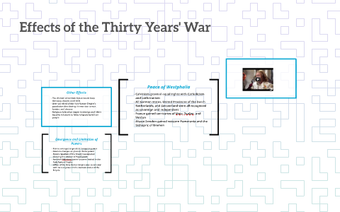 effects of the thirty years war