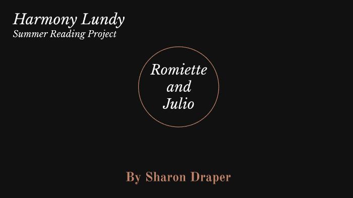 romiette and julio character description