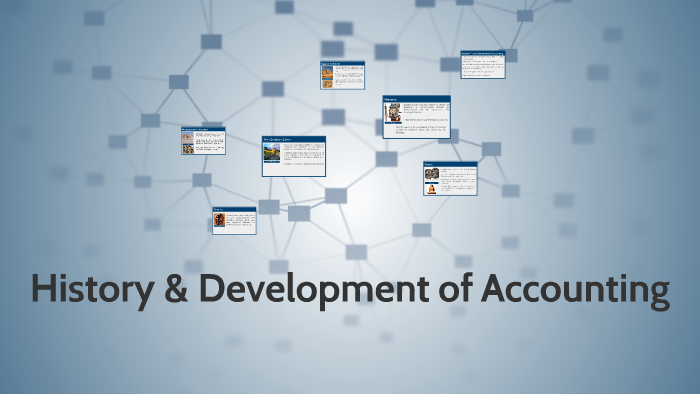 history and development of accounting