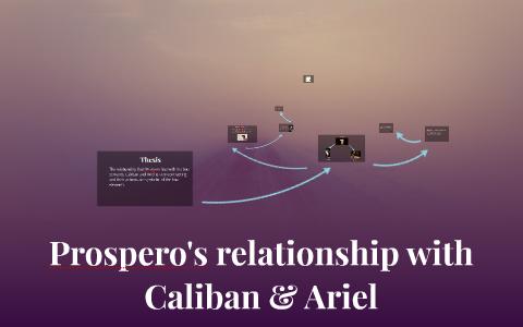 prospero and caliban relationship