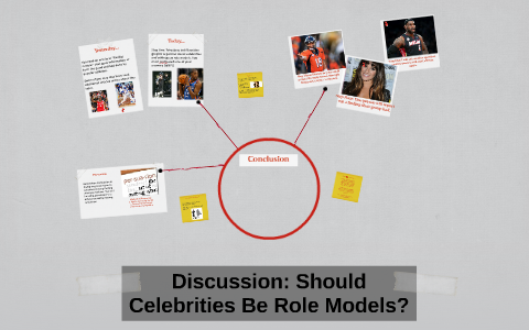 should celebrities be role models