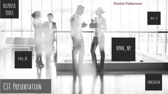 CST Beginning Presentation by Daniel Patterson on Prezi Next