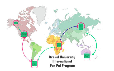 Drexel University International Pen Pal Program by Amanda Tarczynski