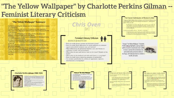 Gilman The Yellow Wallpaper Analysis