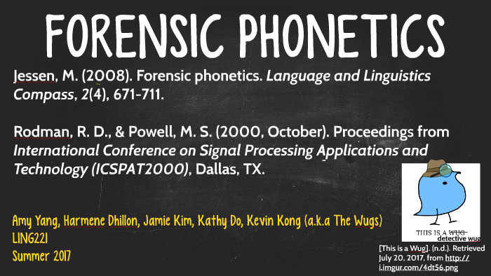 Forensic Linguistics By Kathy Do