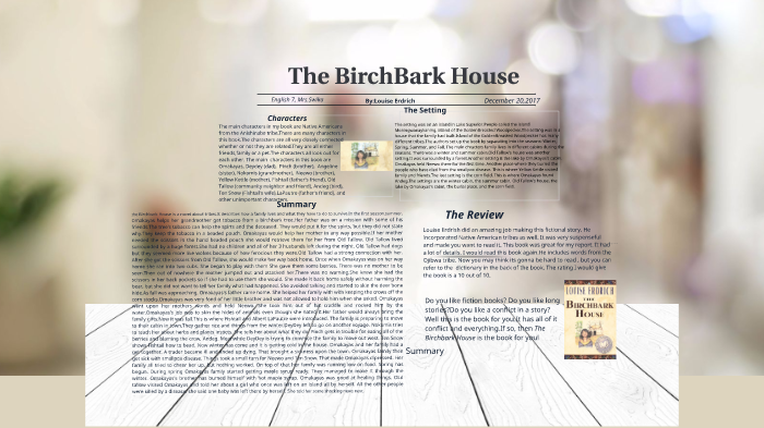 Remarkable The Birchbark House By Madison Miller By Madison Miller On Download Free Architecture Designs Intelgarnamadebymaigaardcom