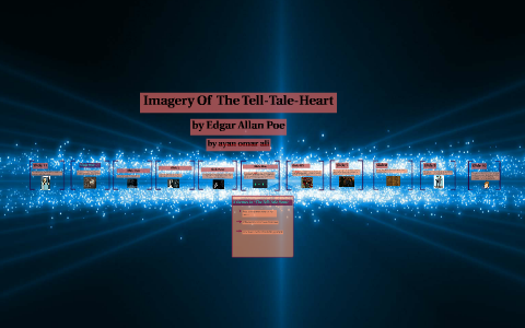 imagery in the tell tale heart