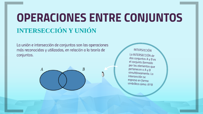 Unión E Intersección De Conjuntos By Elianajosé Molina Espitia