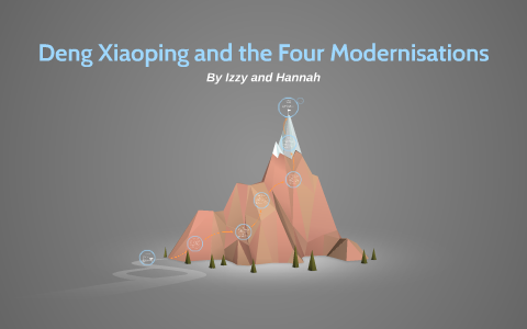 Deng Xiaoping And The Four Modernisations By Izzy Graham