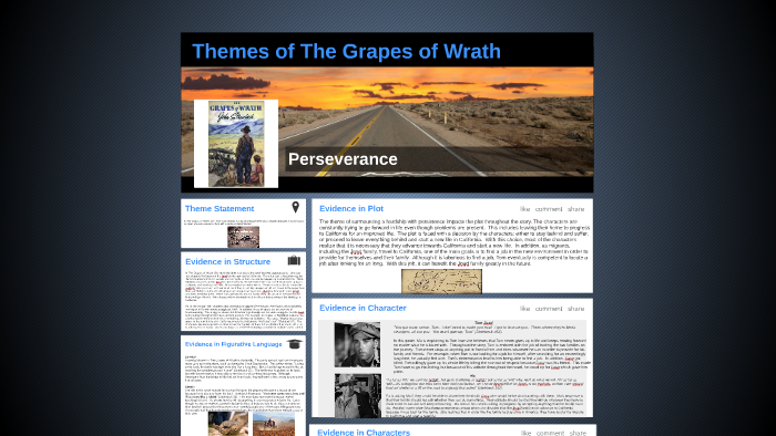what is the theme of the grapes of wrath
