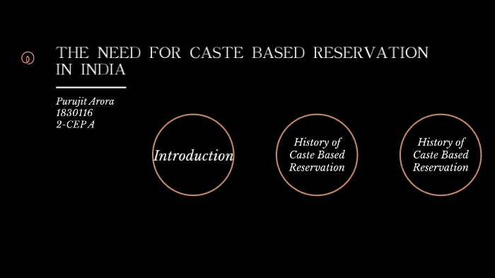 The Need for reservation in India by Purujit Arora on Prezi Next