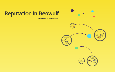 discuss the role of reputation in beowulf
