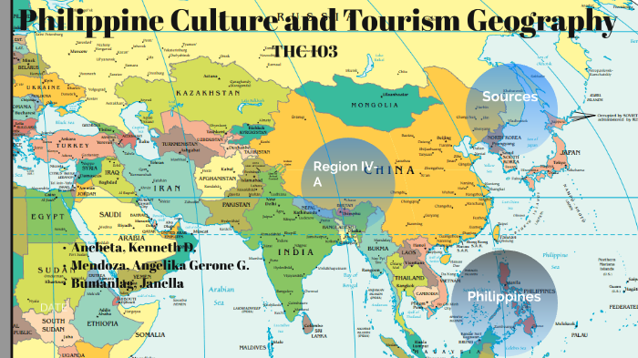 Philippine Culture and Tourism Geography by Angelika Mendoza on