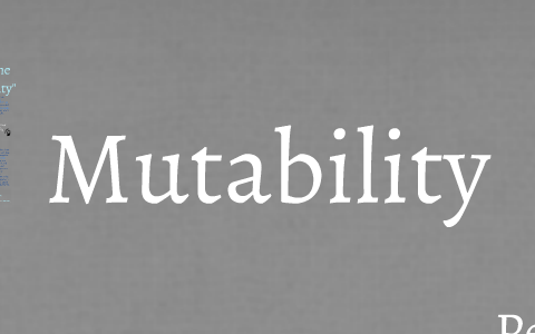 mutability by percy bysshe shelley analysis