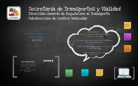 Dirección General De Regulación Al Transporte By Ricardo