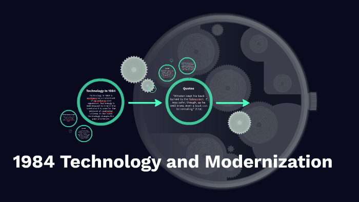 1984 Technology And Modernization By Carleigh Riddle On Prezi