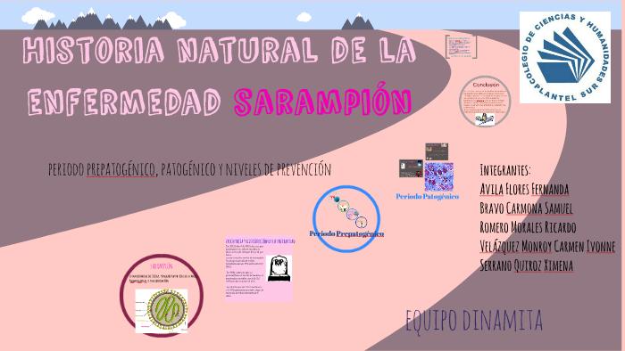 Historia Natural De La Enfermedad Sarampion By Ivonne