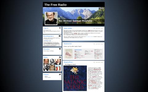 the free radio salman rushdie sparknotes