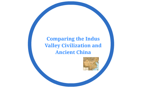compare and contrast ancient india and china