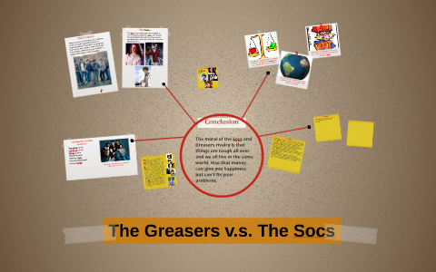 how do the greasers learn more about the socs