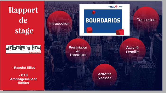 Rapport De Stage Bourdarios By Elliot Ranché On Prezi Next
