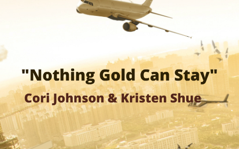 robert frost poem nothing gold can stay analysis