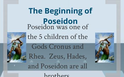 Poseidon God Of The Sea S By Connor Novarro On Prezi