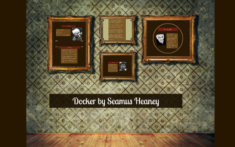 seamus heaney shmoop