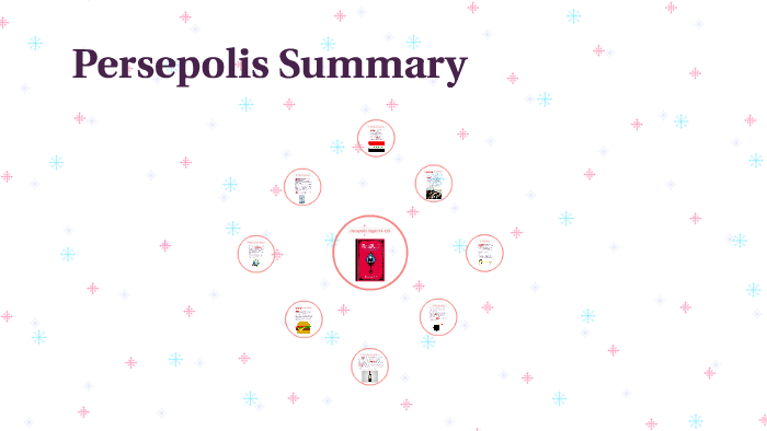 Persepolis Summary By Catherine Grasso