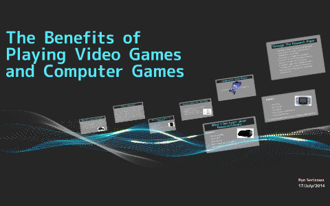 benefits of playing computer games