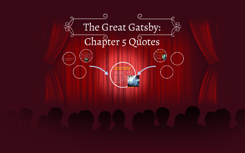 The Great Gatsby Chapter 5 Quotes By Nick Gacioch On Prezi