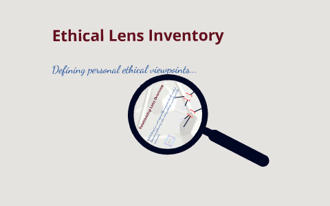 ethical lens inventory