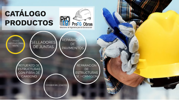 Catálogo de Productos ProTG Obras by Carlos Ramos on Prezi Next