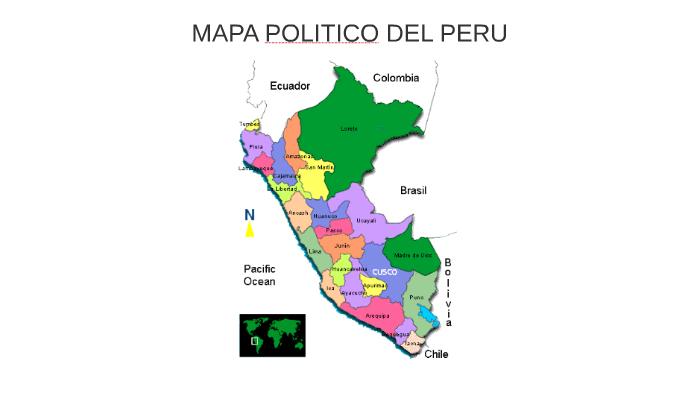 Mapa Politico Del Peru.Mapa Politico Del Peru By Luis Gustavo Santos Lugo On Prezi