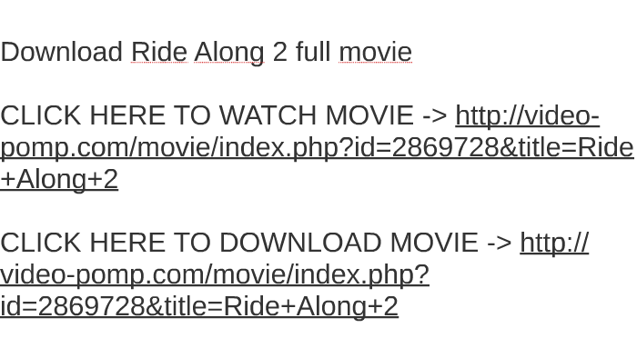 ride along 2 hindi dubbed torrent download