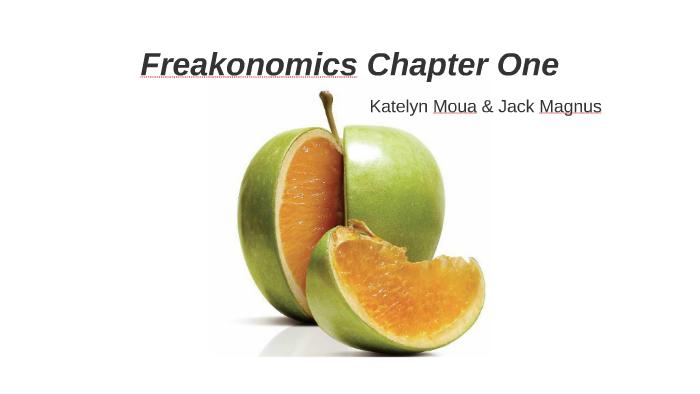 freakonomics chapter 1