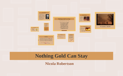 nothing gold can stay the outsiders analysis