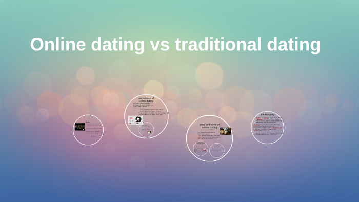 Online dating vs conventional dating