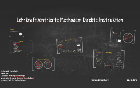 Direkte Instruktion By Carola Lingenberg