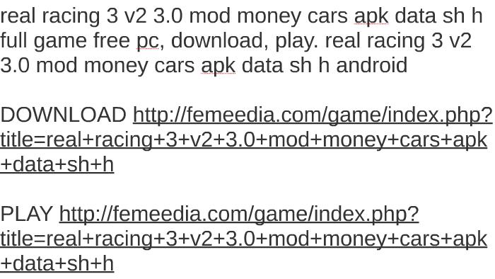 real racing 3 apk obb free download